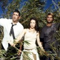 Matthew Fox, Evangeline Lilly, and Josh Holloway on 'Lost'