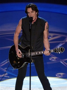 Actor and musician Rick Springfield performs a medley of his greatest hits