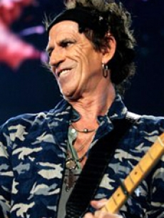 Rolling Stones - Keith Richards 05 01 06 AP