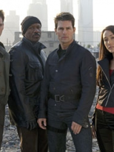 Jonathan Rhys-Meyers, Ving Rhames, Tom Cruise and Maggie Q