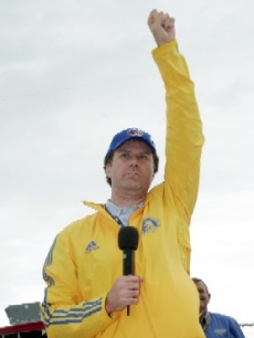 Will Ferrell is Grand Marshal at NASCAR - Talladega, AL