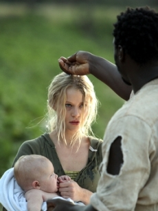 Emilie de Ravin and Adewale Akinnuoye-Agbaje
