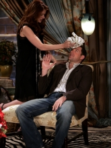 Debra Messing and Ed Burns, 2005