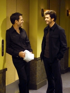 Eric McCormack and Dylan McDermott, 2003