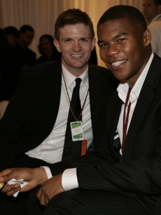 Scott Porter and Gaius Charles