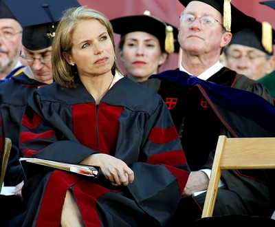Katie Couric at University of Oklahoma