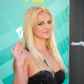 Britney Spears steps out in style at the Teen Choice Awards at the Gibson Amphitheatre in Universal City, Calif., on August 9, 2009