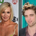 Jennie Garth and Robert Pattinson