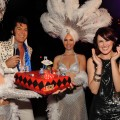 Rumer Willis celebrates her 21st birthday at TAO at the Venetian in Las Vegas on August 16, 2009