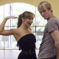 Karina Smirnoff and Aaron Carter gear up for the first episode of &#8216;DWTS&#8217; Season 9, Aug. 2009