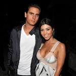 Scott Disick and Kourtney Kardashian step out in West Hollywood, September 25, 2008