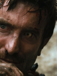 Sharlto Copley hides out in &#8220;District 9&#8221;