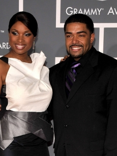 Jennifer Hudson and David Otunga arrive at the 51st Annual Grammy Awards held at the Staples Center on February 8, 2009 in Los Angeles, California