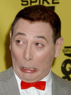Paul Reubens as 'Pee-wee Herman' at Spike TV's 'Guys Choice' Awards in 2007