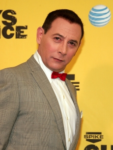 Paul Reubens as 'Pee-wee Herman' poses in the pressroom during of Spike TV's First Annual 'Guys Choice' taped at Radford Studios on June 9, 2007 in Studio City, California