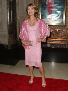 Jane Seymour is pretty in pink at the premiere of 'Legally Blonde The Musical' at the Pantages Theater in LA on August 14, 2009