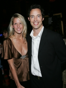 Tom Cavanagh and wife Maureen attend the Seventh Annual Project A.L.S. Gala in New York City on October 4, 2004