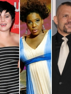 Kelly Osbourne, Macy Gray and Chuck Liddell