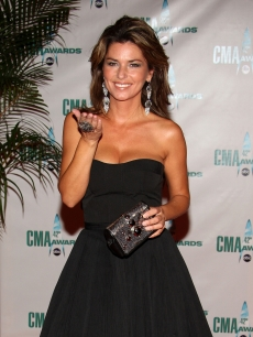 Shania Twain attends the 42nd Annual CMA Awards at the Sommet Center, Nashville, Tenn., November 12, 2008