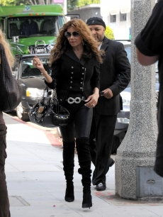 La Toya Jackson steps out on August 17, 2009 in Los Angeles, Calif.