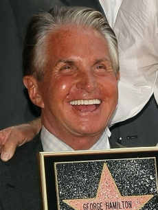 George Hamilton Gets His Star On The Hollywood Walk Of Fame (August 12, 2009)