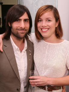 Jason Schwartzman and Brady Cunningham in March 2009