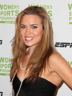 Swimmer Natalie Coughlin attends the 29th annual Salute to Women in Sports Awards presented by the Women's Sports Foundation at The Waldorf-Astoria Hotel, NYC, October 14, 2008