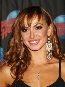 Karina Smirnoff promotes 'Burn The Floor' at Planet Hollywood Times Square, NYC, August 6, 2009