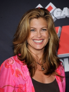 Kathy Ireland arrives at the premiere of ESPN Films & Walt Disney Pictures' 'X Games 3D: The Movie' held at Nokia Theatre LA Live on July 30, 2009