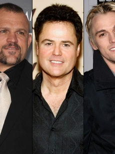 &#8216;Dancing With the Stars&#8217; - Chuck Liddell, Donny Osmond and Aaron Carter