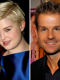 Kelly Osbourne is dancing with Louis van Amstel