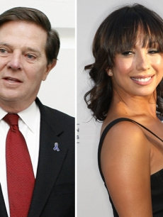 Tom DeLay is dancing with Cheryl Burke