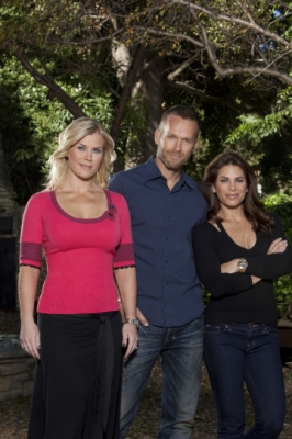 Alison Sweeney, Bob Harper and Jillian Michaels of the 'Biggest Loser'