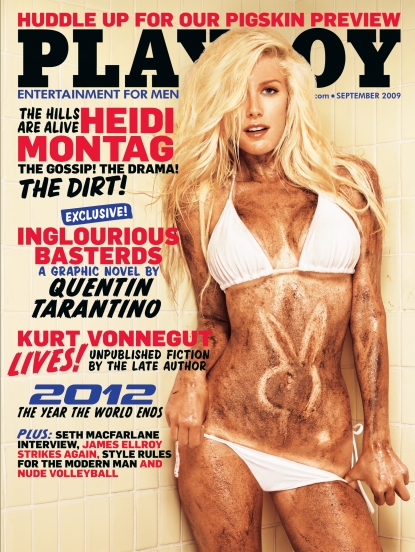 Heidi Pratt on the cover of the September 2009 issue of Playboy