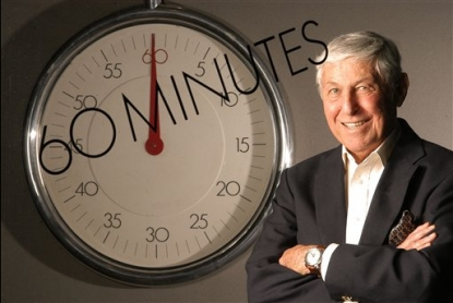 Don Hewitt, the creator of CBS&#8217; &#8216;60 Minutes,&#8217; in New York, May 4, 2004