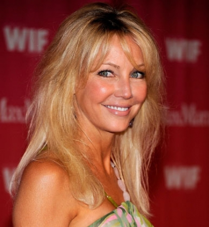 Heather Locklear arrives at the Women In Film 2009 Crystal And Lucy Awards at the Hyatt Regency Century Plaza Hotel on June 12, 2009 in Century City, California