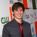 Matt Lanter is all tied up at The CW & AT&T's 'Melrose Place' premiere party on Melrose Place in LA on August 22, 2009