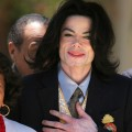 Michael Jackson leaves the Santa Barbara County Courthouse on May 25, 2005