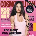 Megan Fox on the cover of the October 2009 issue of Cosmopolitan
