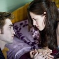 Robert Pattinson and Kristen Stewart as Edward and Bella in Summit Entertainment's 'The Twilight Saga: New Moon'
