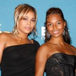 Tionne 'T-Boz' Watkins and Rozonda 'Chilli' Thomas of the music group TLC pose in the press room at the 2008 BET Awards held at the Shrine Auditorium on June 24, 2008 in Los Angeles