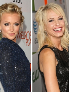 Katie Cassidy, Josie Bissett at The CW&#8217;s &#8216;Melrose Place&#8217; premiere party, Los Angeles, Aug. 22, 2009