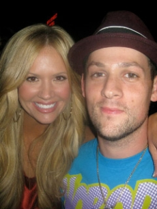Nancy O'Dell and Joel Madden