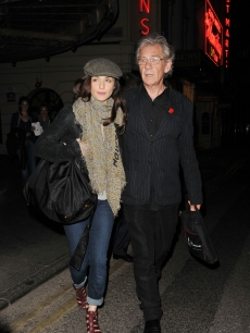 Rachel Weisz and Ian McKellen step out in London, Aug. 24, 2009