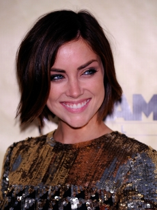 Jessica Stroup is stunning in sequins at the premiere of  'Extract' at the ArcLight, Los Angeles. August 24, 2009