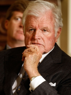 Sen. Ted Kennedy at the White House March 5, 2009