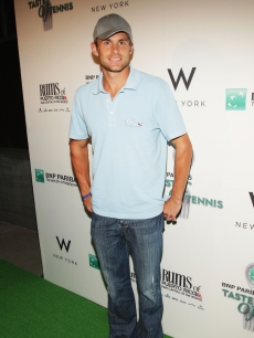 Andy Roddick attends the 10th annual BNP Paribas Taste of Tennis at W New York in New York City on August 27, 2009