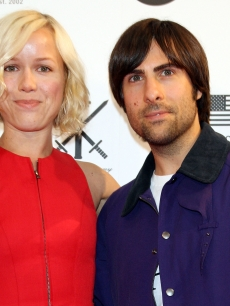 Jason Schwartzman and his wife step out at the Opening Ceremony Japan flagship store opening in Tokyo, Japan on August 29, 2009