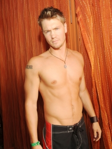 Chad Michael Murray attends TAO Beach at The Venetian Hotel and Casino Resort on August 29, 2009 in Las Vegas, Nevada