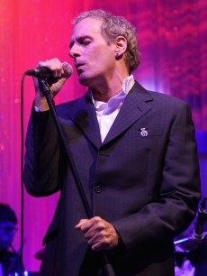 Michael Bolton performs at the Shooting Stars in Desert Nights benefit party, London, June 11, 2009
